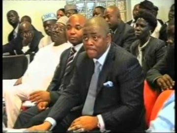 Femi Fani Kayode, fmr  Minister of Aviation appears before the Senate Aviation Committee June 2008 Pt 5
