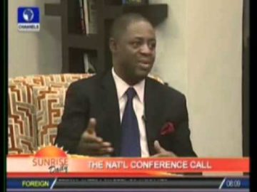 Femi Fani-Kayode speaks on The Sovereign National Conference on Channels Tv.flv