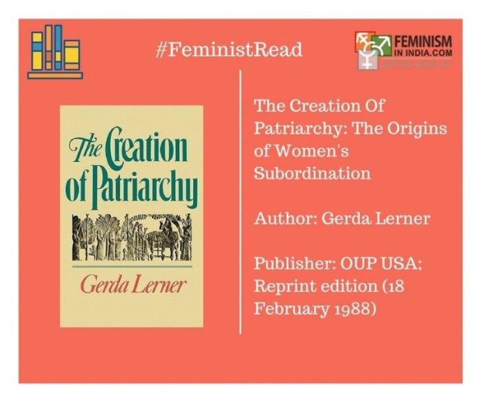 gerda lerner creation of patriarchy