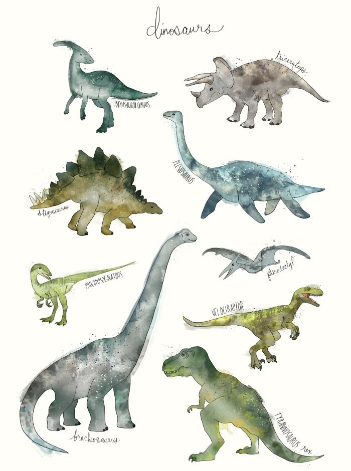 Sunday's Society6 - Amy Hamilton, Dinosaurs
