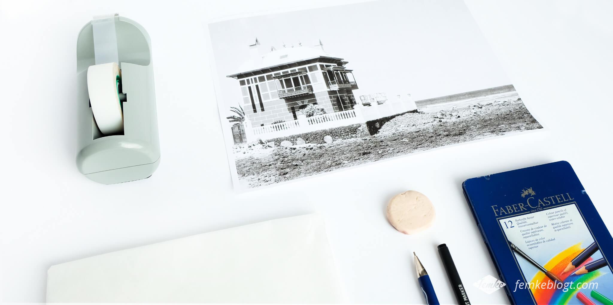 kleurplaat foto tools