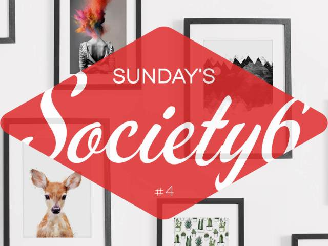 Sunday's Society6 #4 header