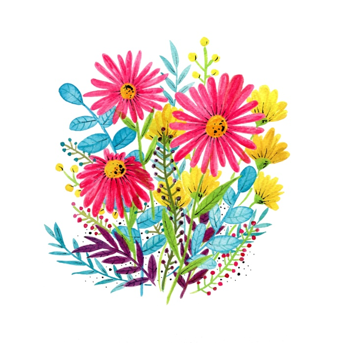 Sunday's Society6 flowers