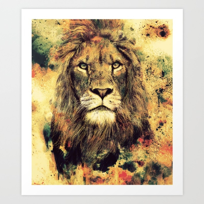 Sunday's Society6 lion