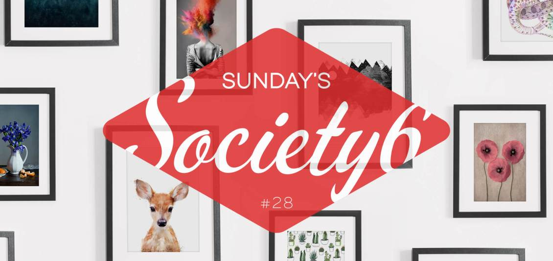 Sunday's Society6 #28 | Halloween mosnters