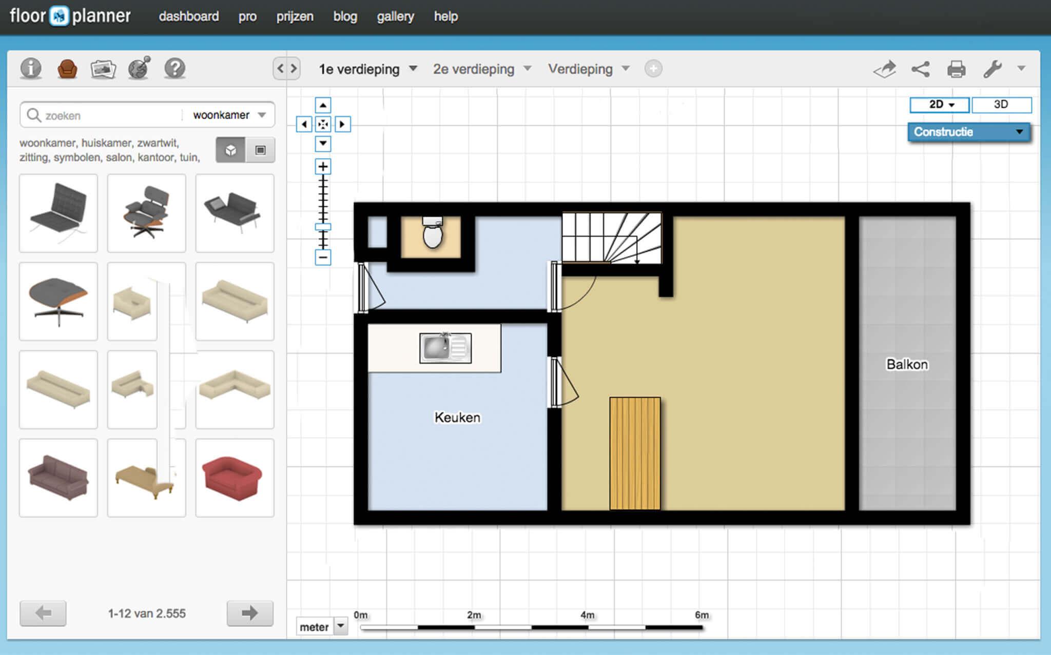 Richt je huis in met Floorplanner