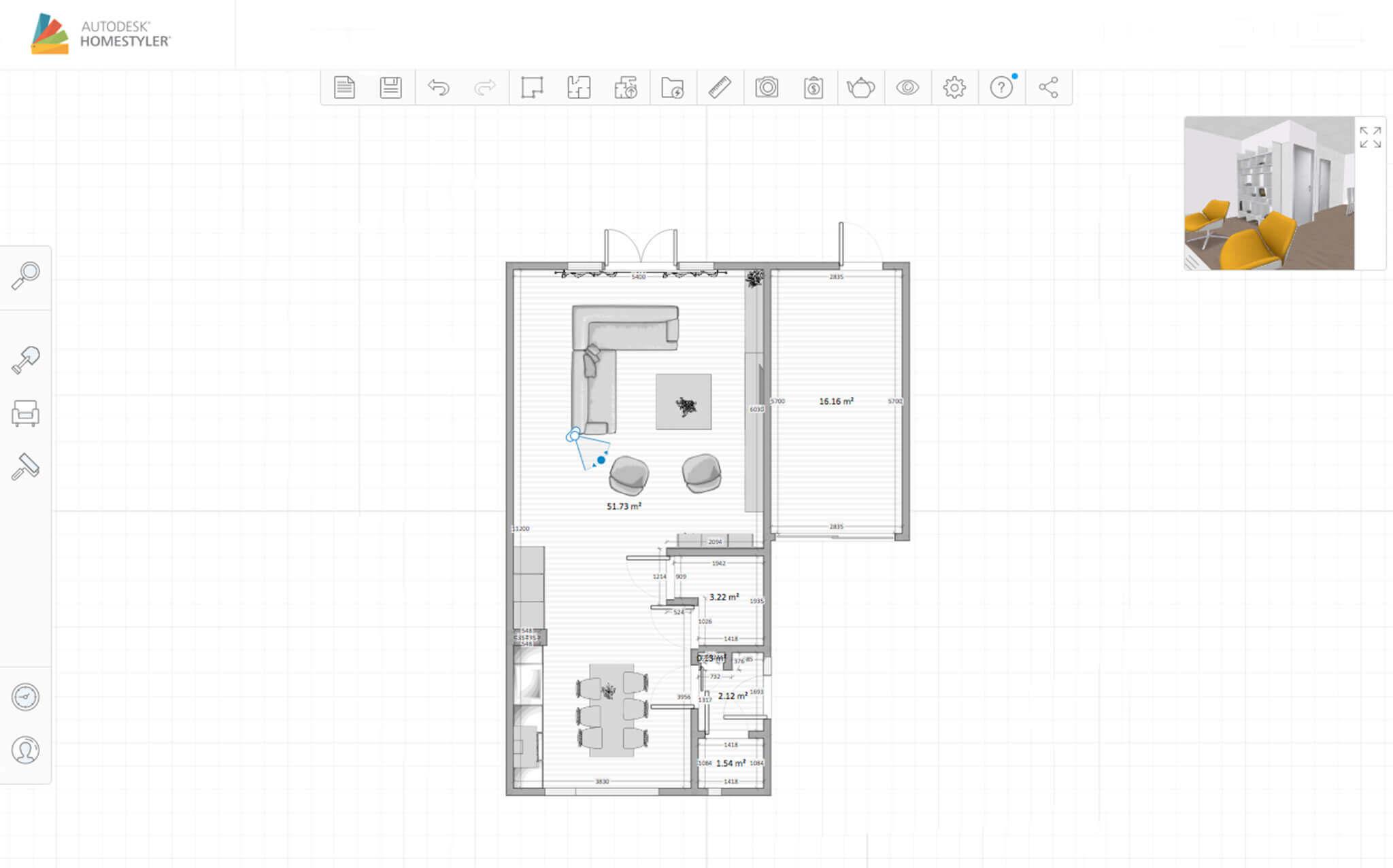 Richt je huis in met Homestyler