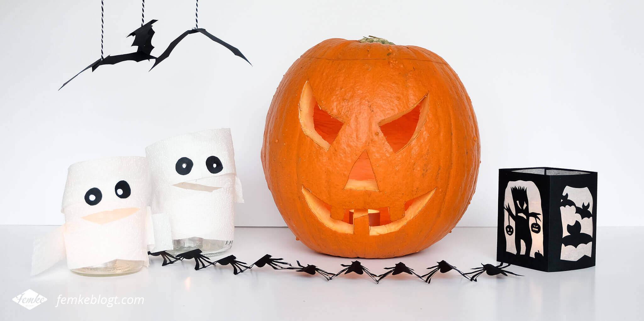 DIY Halloween decoratie | Griezelige en simpele DIY Halloween decoratie. Griezelen gegarandeerd!