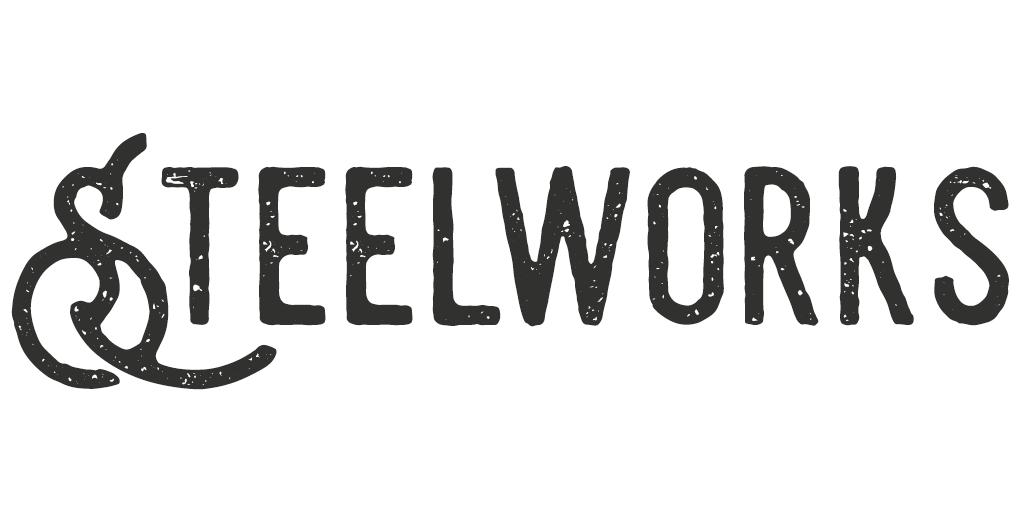 Vintage/Retro lettertype - Steelworks
