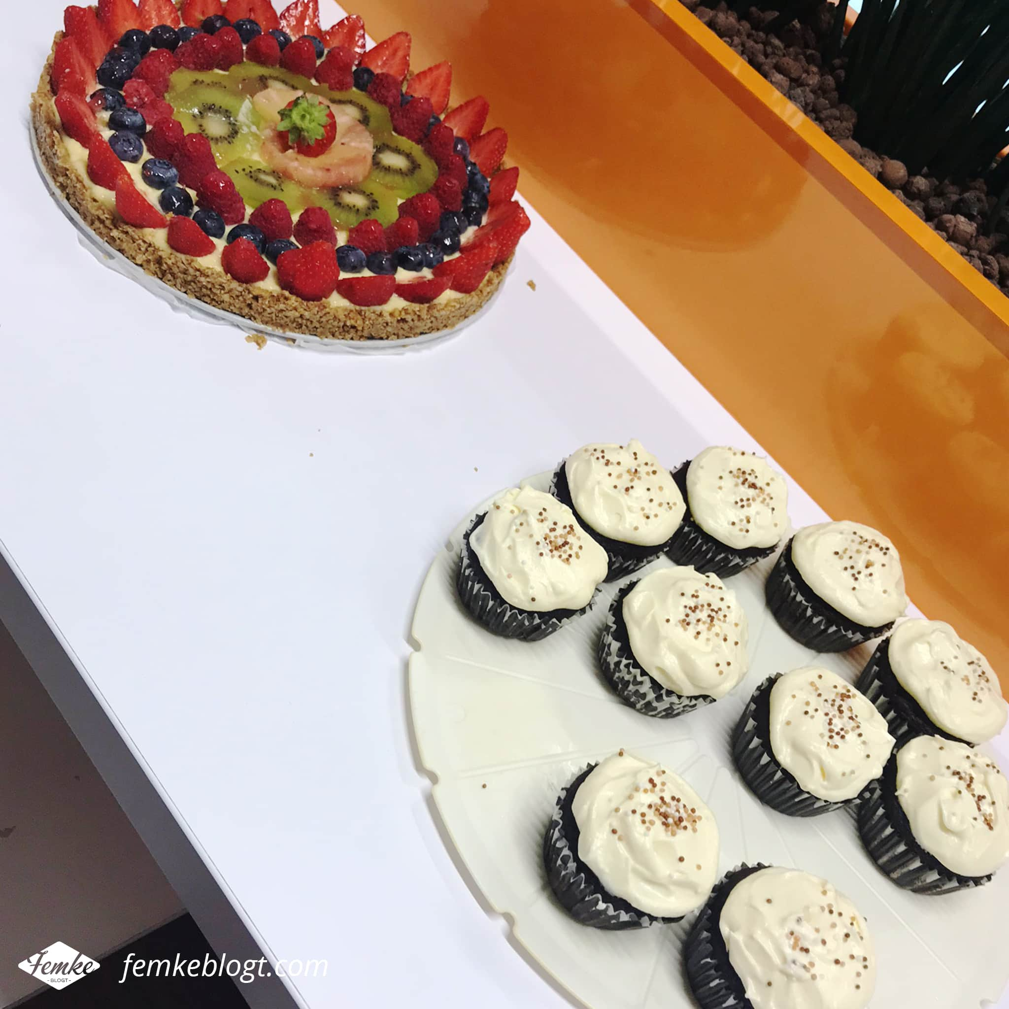 Maandoverzicht juli | Chocolade cupcakes en fruittaart