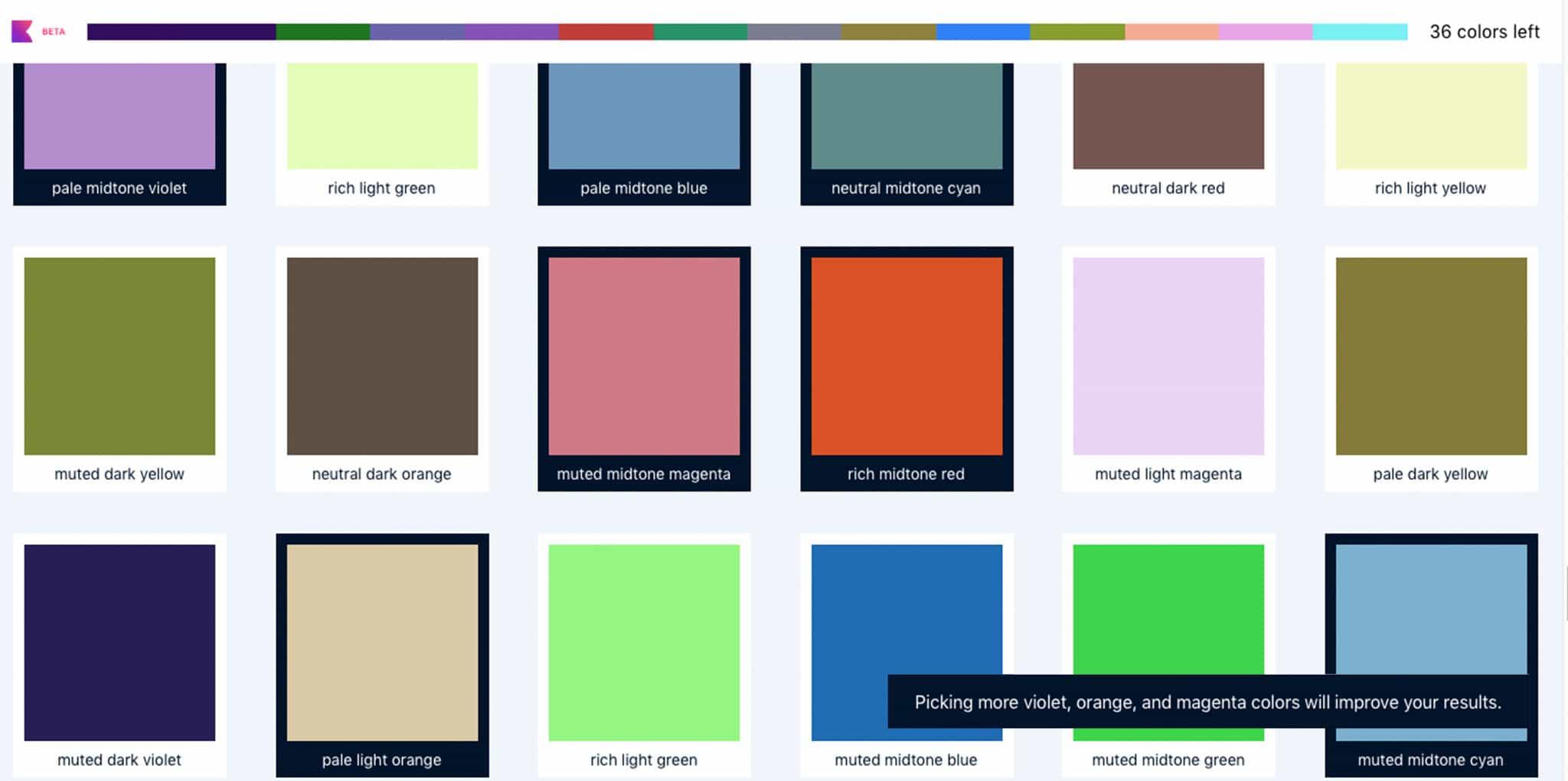 Ontdek jouw favoriete kleurenpalet met Khroma