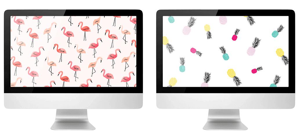 10 Zomerse wallpapers om je (werk)dag op te fleuren