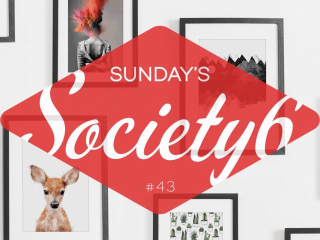 Sunday's Society6 #43 | Planeten