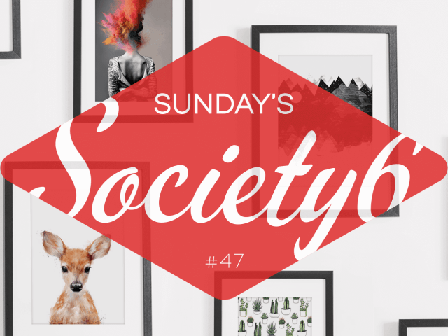 Sunday's Society6 #47 | Lente