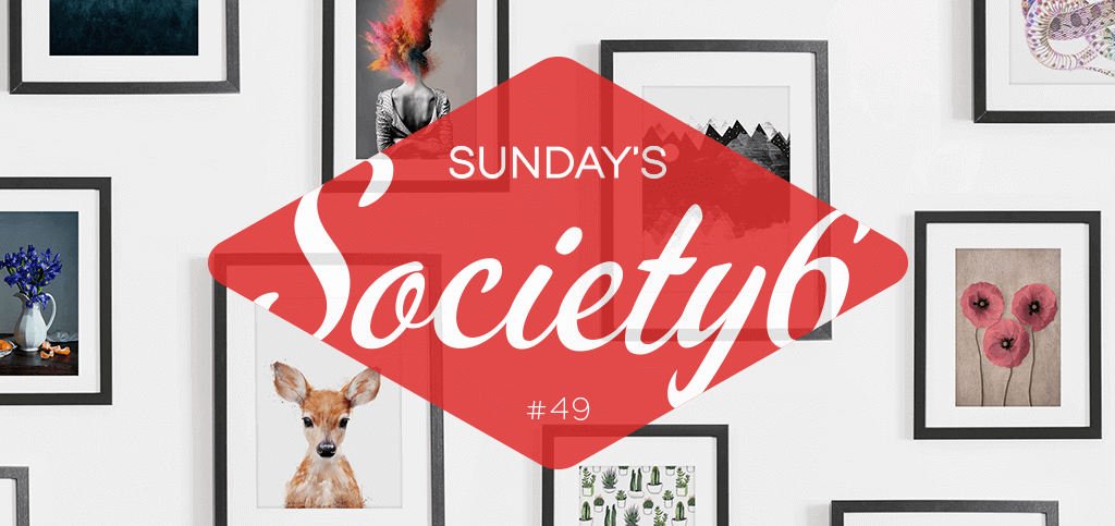 Sunday's Society6 #49   Taart!