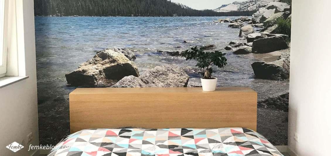DIY fotobehang van je eigen foto | Fotobehang op de slaapkamer