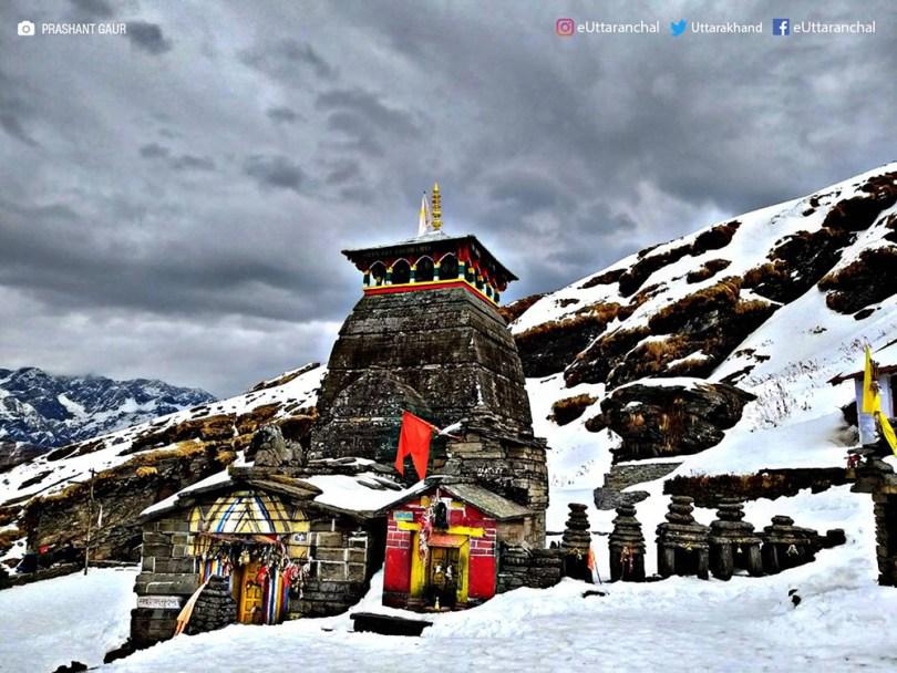 snowfall in India