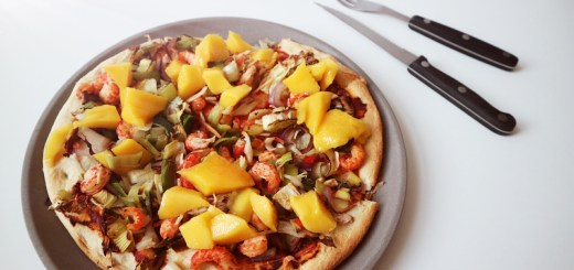 pizza mango kreeft chili