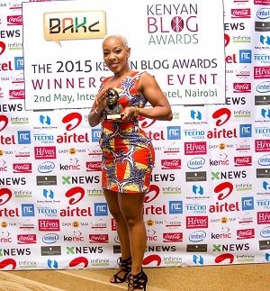 Jane Mukami, Winner of Best Health Blog