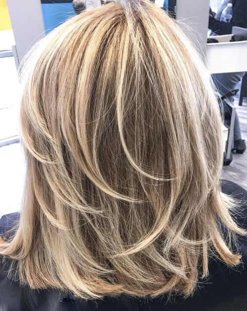 60 coiffures coupe cheveux mi long