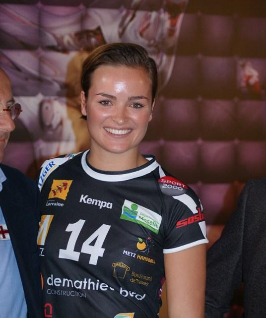 Yvette Broch - Metz Handball - Handball féminin - Femmes de Sport