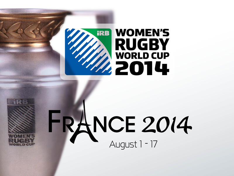 Logo Coupe du Monde de Rugby Féminin France 2014