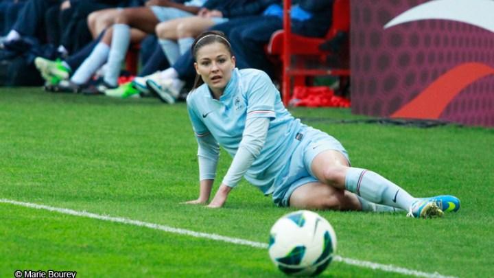 Equipe de France Féminine de Football - Juin 2013 - Laure Boulleau