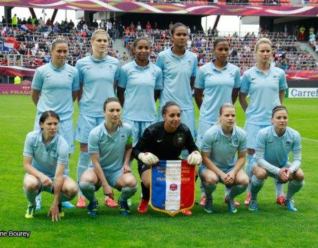 Equipe de France Féminine de Football - Juin 2013