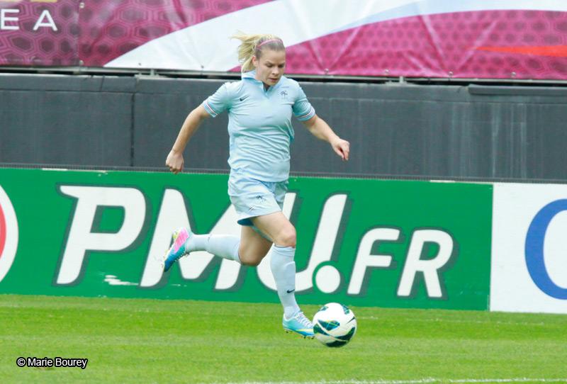 Equipe de France Féminine de Football - Juin 2013 - Eugénie Le Sommer