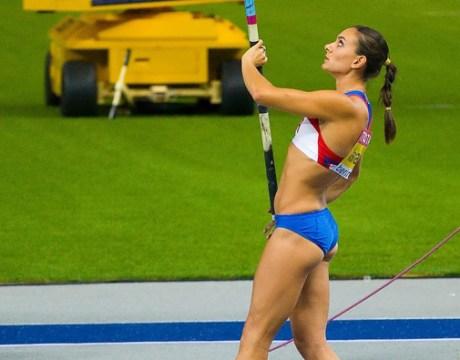 Athletisme - Yelena Isinbayeva