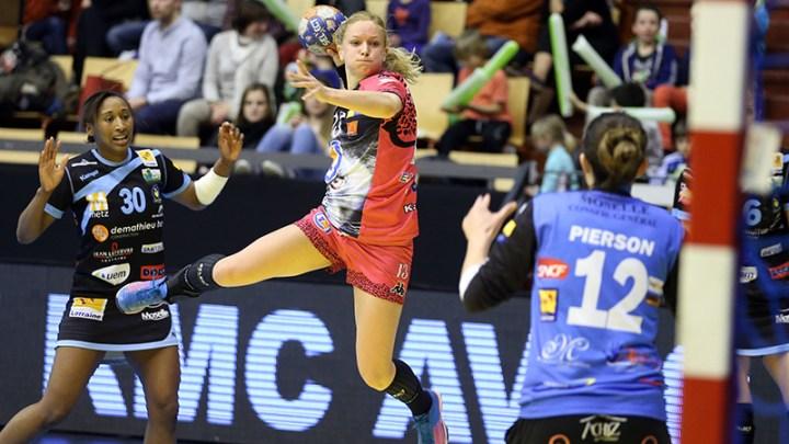 Handball - Fleury Loiret Handball - Manon Houette