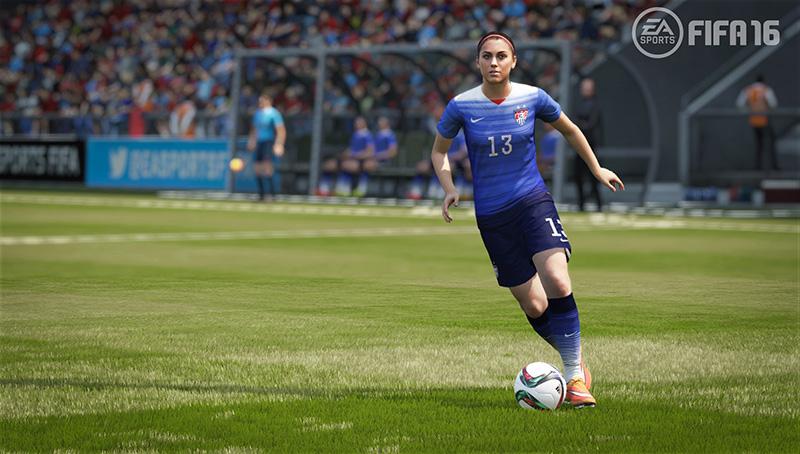 FIFA 16 - USA - Alex Morgan