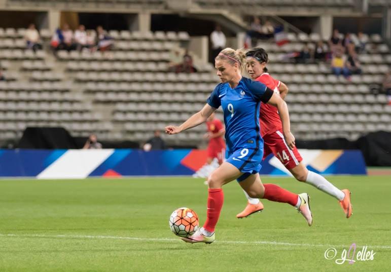 Eugénie Le Sommer - Equipe de France féminine de football - Football Féminin - -Sport Féminin - Femmes de Sport