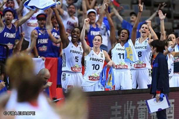 Basket France joie