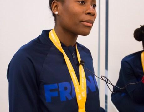 Catherine Gabriel - Equipe de France Féminine de Handball - Handball Féminin - Sport Féminin - Handball Féminin