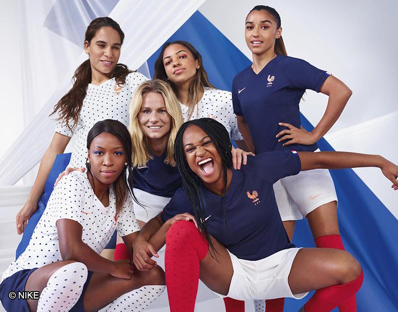 Equipe de France féminine de football - Football féminin - Femmes de Sport