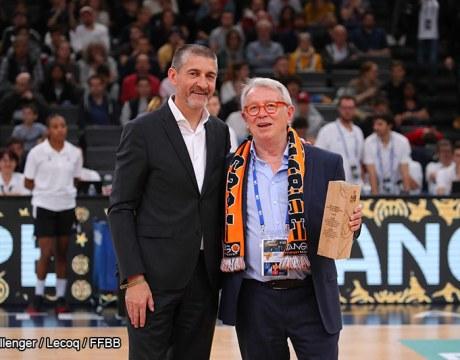 Jean-Pierre Siutat et Pierre Fosset - Basket Féminin - Sport Féminin - Femmes de Sport