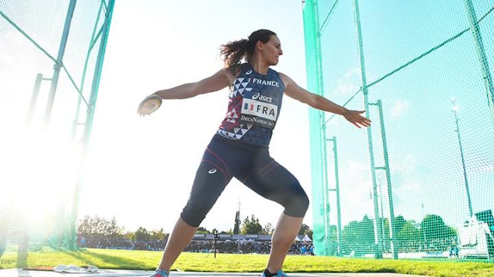 Athlétisme Féminin - Mélina Robert-Michon - Sport Féminin - Femmes de Sport
