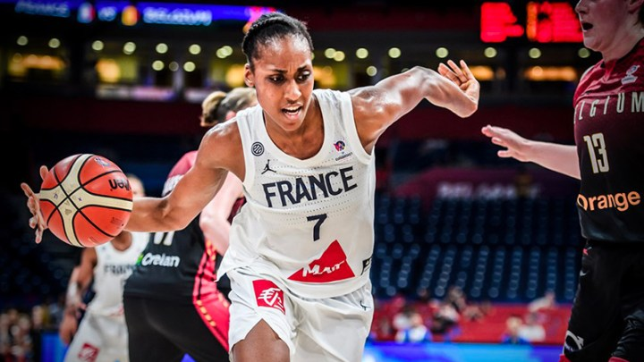 Basket - France féminine - Sandrine Gruda