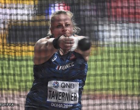 Alexandra Tavernier - Athlétisme féminin - Lancer du Marteau féminin - Femmes de Sport