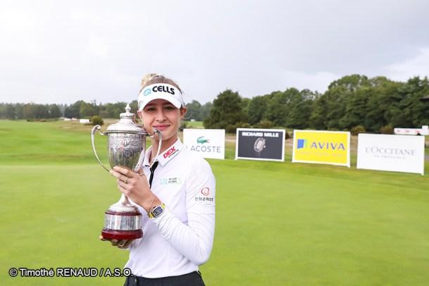 Lacoste Ladies Open de France 2019 - Nelly Korda - Golf Féminin - Femmes de Sport
