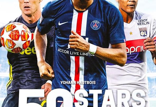 Livre Les 50 stars du foot, sélection 2019 - Football féminin - Sport Féminin - Femmes de Sport