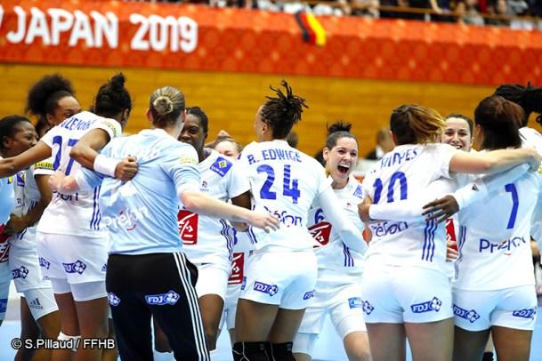 Equipe de France féminine de Handball 2019 - Handball féminin - Sport Féminin - Femmes de Sport