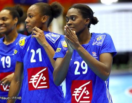 Gnonsiane Niombla - Equipe de France féminine de handball - Handball féminin - Sport Féminin - Femmes de Sport