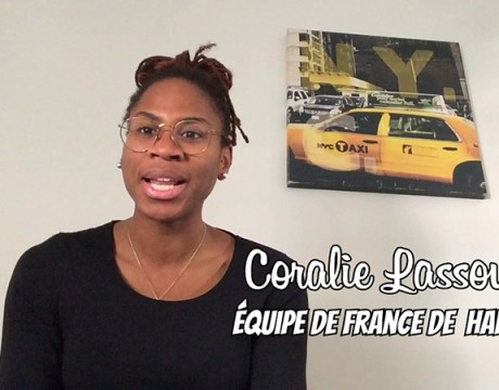 La Selfinterview - Coralie Lassource - Handball féminin - Sport Féminin - Femmes de Sport