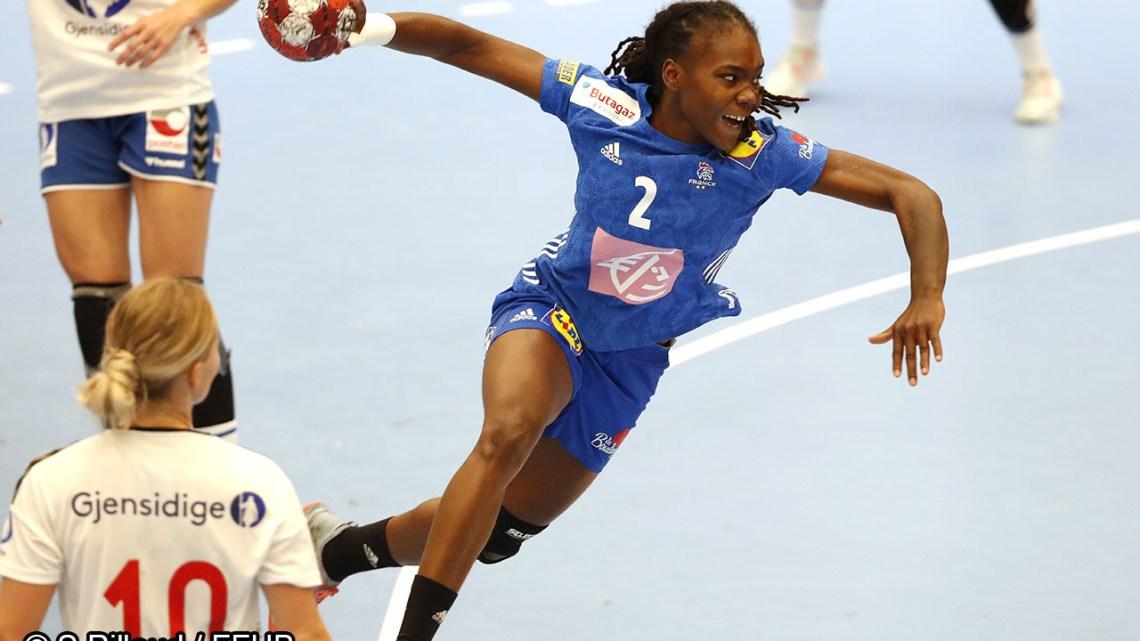 Méline Nocandy - Equipe de France féminine de Handball - Handball Féminin - Sport Féminin - Femmes de Sport