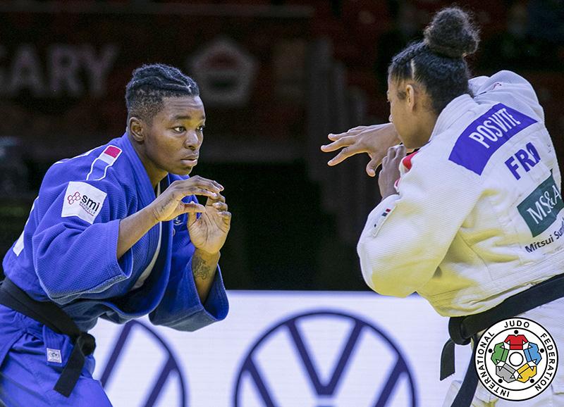 Audrey Tcheuméo & Fanny-Estelle Posvite - Judo Féminin - Sport féminin - Femmes de Sport