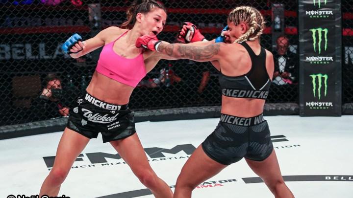 Lucie Bertaud - Maguy Berchel - MMA Féminin - Sport féminin - Femmes de Sport