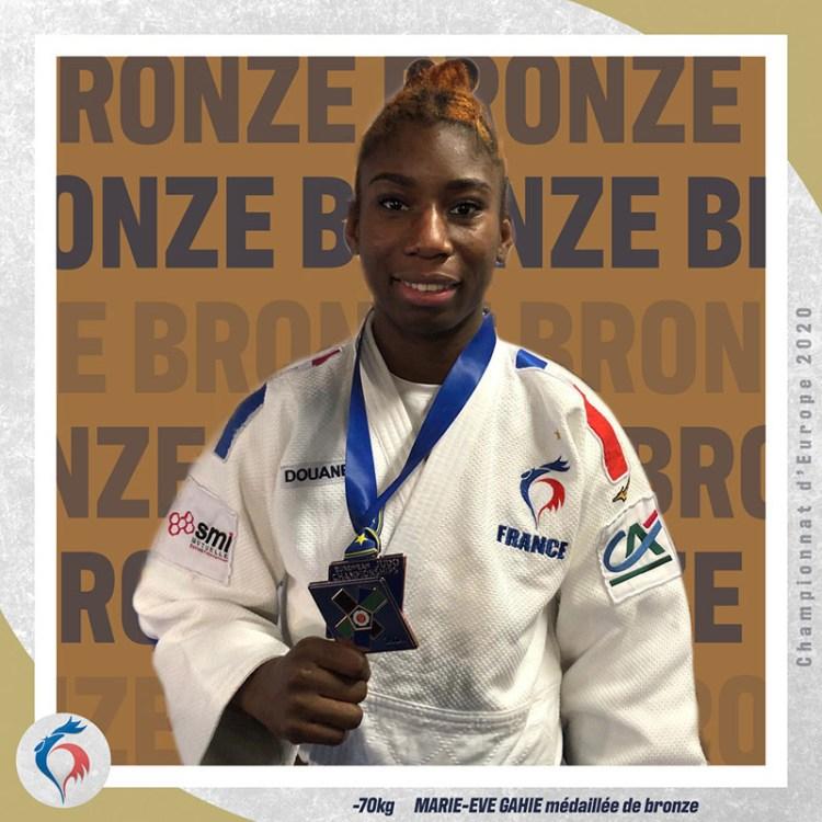 Marie-Eve Gahié - Judo Féminin - Sport Féminin - Femmes de Sport