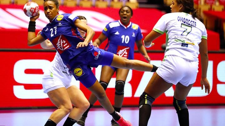 Estelle Nzé Minko - Equipe de France de Handball - Handball Féminin - Sport Féminin - Femmes de Sport